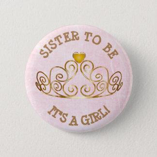 Rosa y oro SU una hermana del CHICA a ser botón