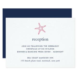 Rosa y tarjeta de la recepción de las estrellas de