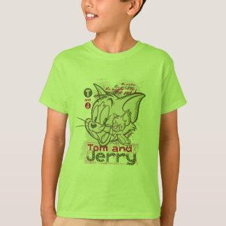 Rosa y verde de Tom y Jerry Camisas