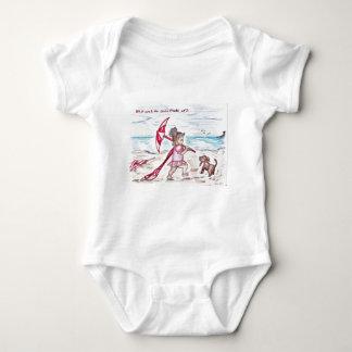 Rosado Body Para Bebé