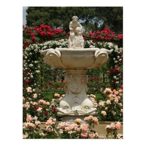 Rosaleda del parque de Retiro, postal de Madrid Es