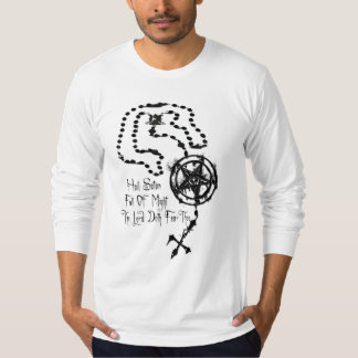 Rosario satánico camiseta