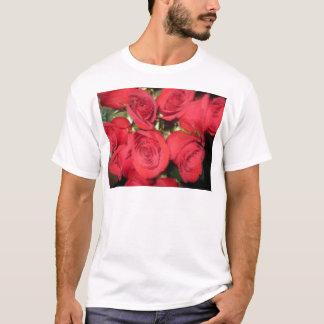 Rosas con el cepillo seco II.jpg Camiseta