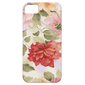 Rosas de la acuarela del vintage iPhone 5 funda