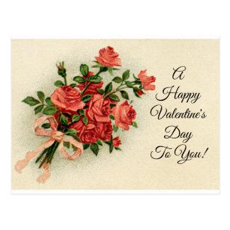 Rosas de la tarjeta del día de San Valentín del