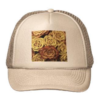 rosas de lujo hermosos gorra