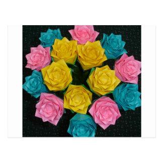 Rosas de Origami Postal