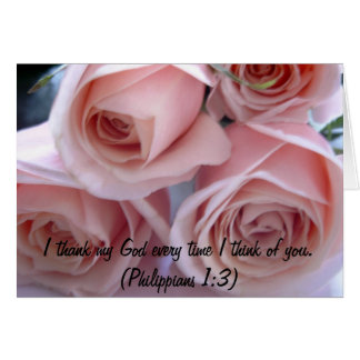 Rosas del melocotón tarjeta