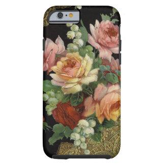 Rosas del vintage funda para iPhone 6 tough