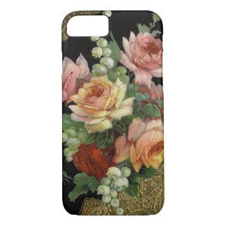 Rosas del vintage funda iPhone 7