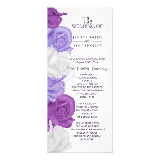 Rosas elegantes de la herencia que casan programa