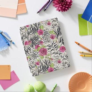 Rosas en el modelo animal cover de iPad