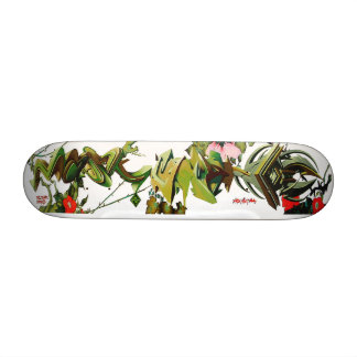 Rosas espinosos de la etiqueta que suben - arte de monopatin