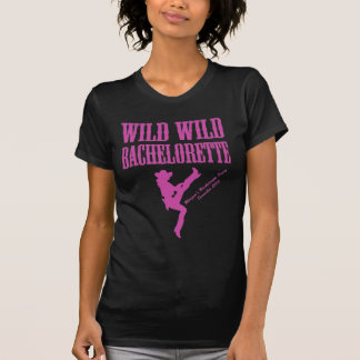 Rosas fuertes Bachelorette Camisetas