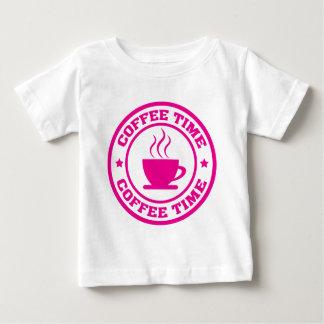 Rosas fuertes del círculo del tiempo del café A251 Camisas