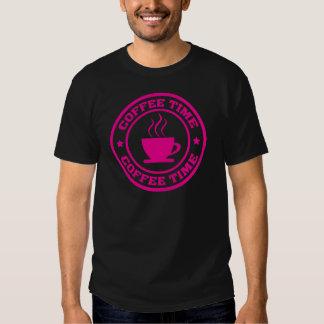 Rosas fuertes del círculo del tiempo del café A251 Camiseta