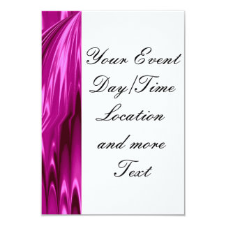 rosas fuertes del laserArt 12 (i) Invitación 8,9 X 12,7 Cm