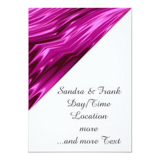 rosas fuertes del laserArt 12 (i) Invitación 12,7 X 17,8 Cm
