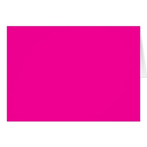 Rosas fuertes magentas fucsias del color de fondo tarjeton | Zazzle