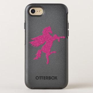 Rosas fuertes Pegaso en textura del brillo Funda OtterBox Symmetry Para iPhone 8/7