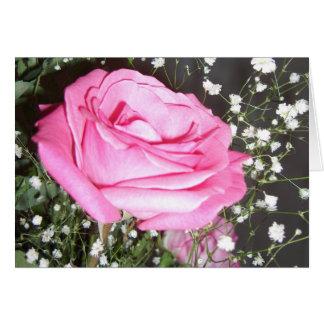 Rosas - poema del amor tarjeta de felicitación