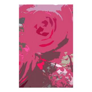 Rosas rojos papelería personalizada