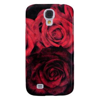 Rosas rojos y negros del lunar