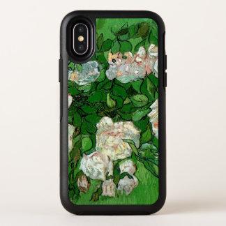 Rosas rosados de Van Gogh, bella arte del jardín