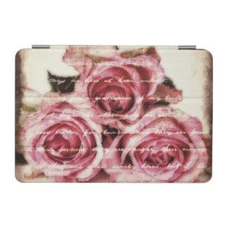 Rosas rosados del vintage cover de iPad mini