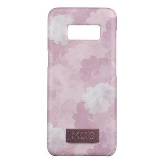 Rosas rosados femeninos de la acuarela funda de Case-Mate para samsung galaxy s8