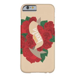 Rosas Vida Bonita Funda Barely There iPhone 6