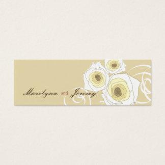 Rosas y etiqueta poner crema elegantes elegantes