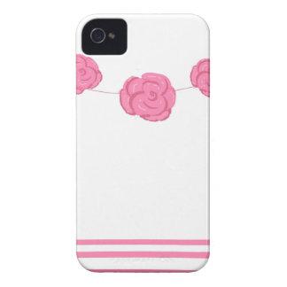 Rosas y rayas rosados