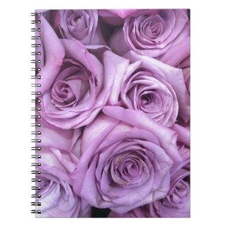 rose.jpg púrpura libro de apuntes