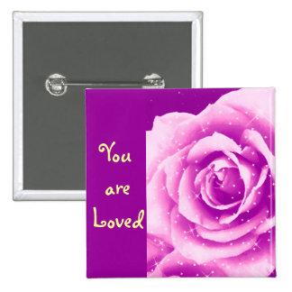 Rose_ púrpura pins
