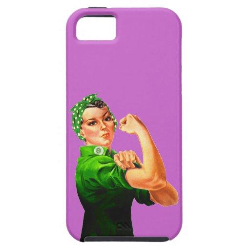 Rosie el remachador - militar verde iPhone 5 coberturas