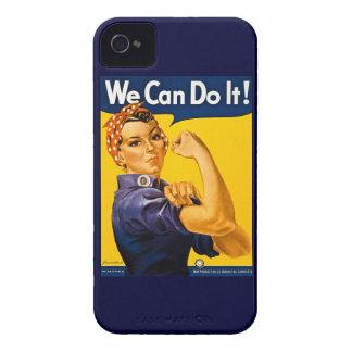 Rosie el remachador podemos hacerlo vintage iPhone 4 Case-Mate protector