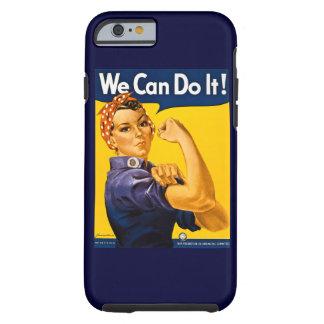 Rosie el remachador podemos hacerlo vintage funda de iPhone 6 tough