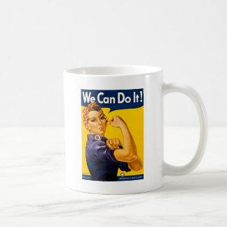 Rosie el remachador podemos hacerlo vintage tazas de café