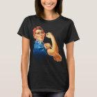Rosie la camiseta del feminismo del vintage del
