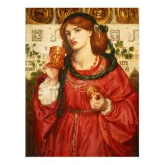 Rossetti la postal de la taza cariñosa CC0648