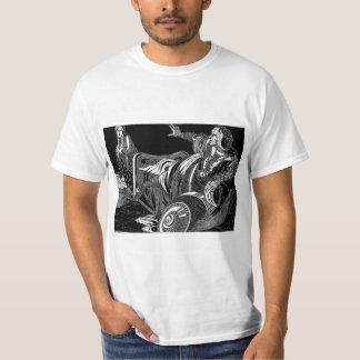 Rostro de una pesadilla camiseta