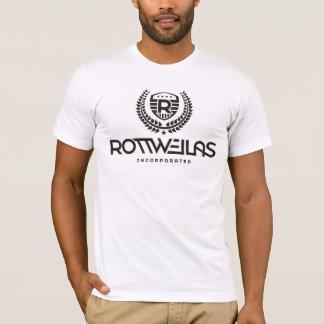 Rottweilas - hombres - blanco camiseta