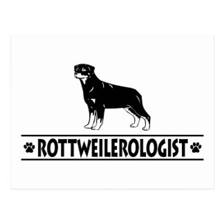 Rottweiler chistoso postal