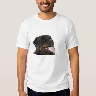 rottweiler grande camiseta
