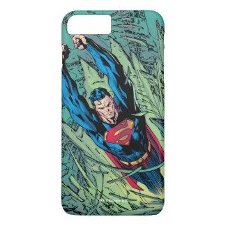 Roturas del superhombre a través funda iPhone 7 plus