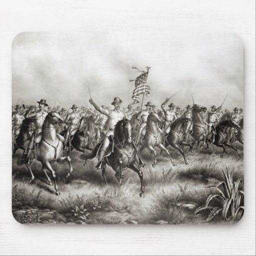 Rough Riders: Coronel Theodore Roosevelt Alfombrilla De Raton