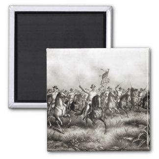 Rough Riders: Coronel Theodore Roosevelt Imán De Frigorífico