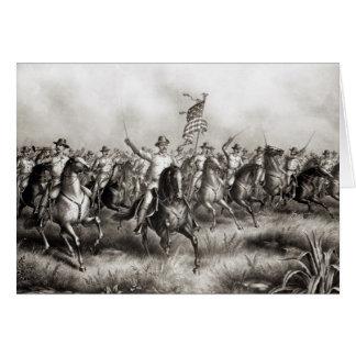 Rough Riders Coronel Theodore Roosevelt Felicitaciones
