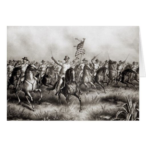 Rough Riders: Coronel Theodore Roosevelt Felicitaciones